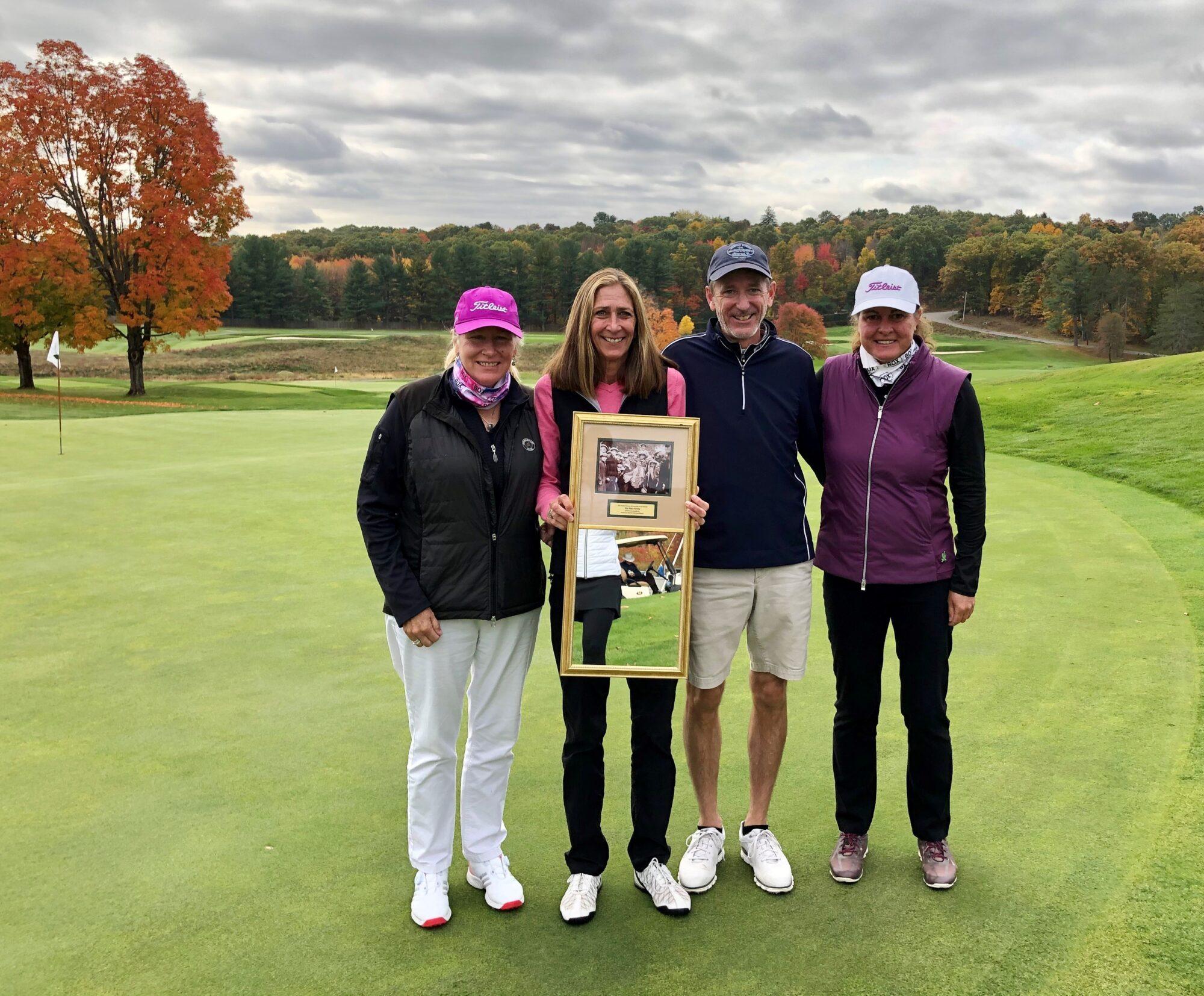 Pitts Family Receives Denny Goodrich Award